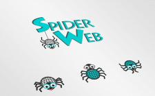 логотип и корпоративный герой SpiderWeb