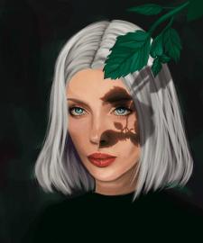 Портрет девушки по индивидуальному ТЗ