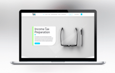 Design for TAX Consulting company