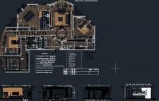 Скрин рабочей области по планам и разверткам