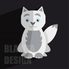 Векторная иллюстрация кота