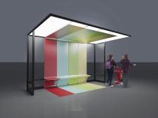 Дизайн автобусной остановки