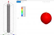 Расчет и моделирование спиральной антенны
