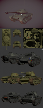 low_poly_tanks