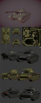 low_poly_tanks
