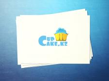 Логотип для интернет магазина Capcake.kz