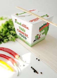 Дизайн упаковки для FoodZilla
