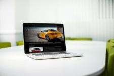 Сайт аренды элитного автомобиля