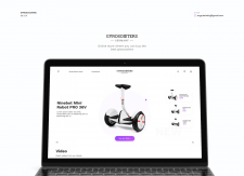 Gyroscooters | Landing Page