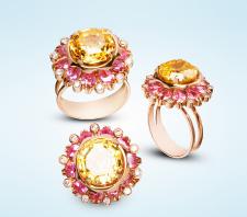 Предметная фотография золотого кольца