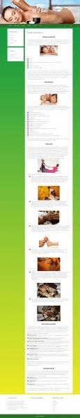 Сайт для спа-студии NeBali