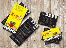Телевизия - дизайн листовки для курса КИНО