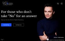 Website for Expert in Internet Marketing