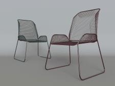 Моделирование и визуализация, стулья