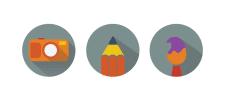 Іконка для веб дизайну-1шт.