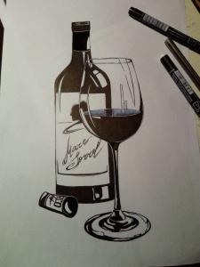 Вино с натуры