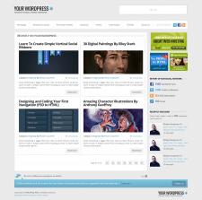 Вёрстка сайта с уроками фотошопа