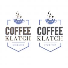 Векторизация логотипа для кофейни Coffee Klatch