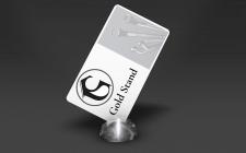 """Логотип для компанії """"Gold Stand"""""""