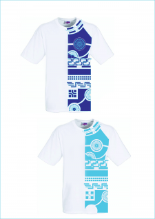 Дизайн футболок. Тату