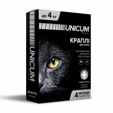 Упаковка капель для котов