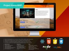 Arena React+Node.js