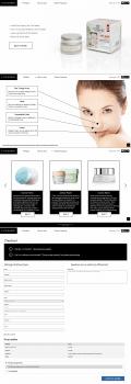 Дизайн сайту для продажу кремів