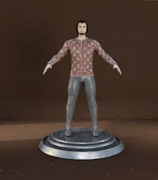 Моделирование персонажа воина
