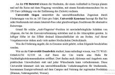Ökologie an deutschen Universitäten