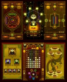 Дизайн игры Вектор