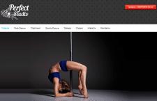 Создание сайта для студии танца под ключ