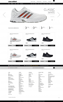 Магазин обуви Adidas