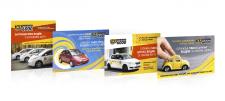Рекламные баннеры Такси 6000 для социальных сетей