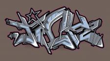 Граффити, отрисовка