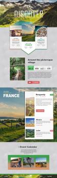 Сайт по планировке тур.поездки на велосипедах