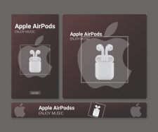 Баннер для Apple Airpods