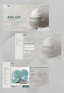 Интернет-магазин дизайнерской посуды