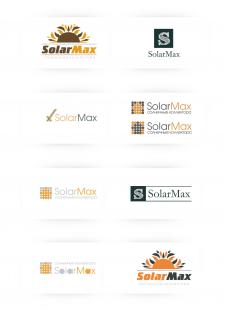 Варианты разработки логотипа SolarMax №1
