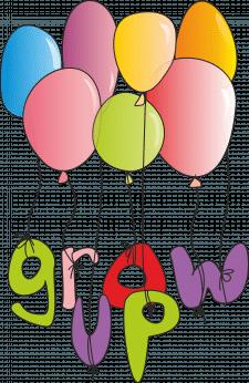 Логотип Grow Up