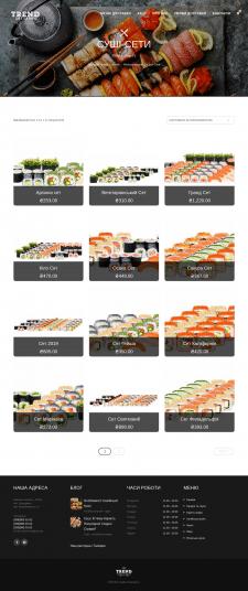 Японская и итальянская кухня