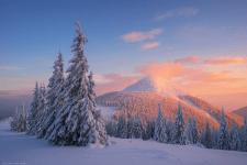 Поход по зимним Горганам