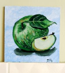 """Яблочки """"серия картин """"сочность"""""""""""