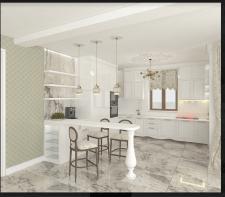Кухня, стиль прованс