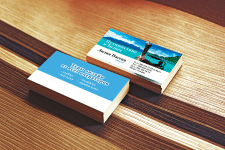 Дизайн визитки туризм