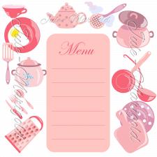 Шаблон для рецепту чи меню