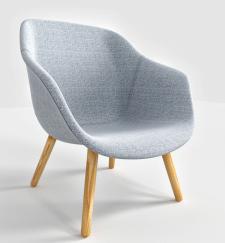 3д рендер+моделирование лаунж кресла
