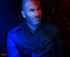 Zinedine Zidane (арт обработка фотографии)