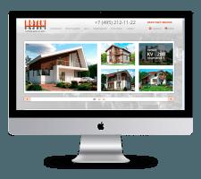 Адаптивный сайт для строительной компании