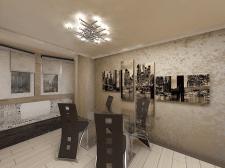 4х комнатная квартира на ул.Глушко,гостиная