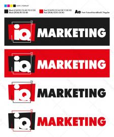 Логотип IQ MARKETING